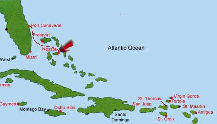 Carnival Pride 2002 Salt Cay Bahammas